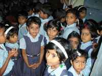 South India School Kids - 2011