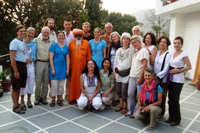 Group with Shankara Das